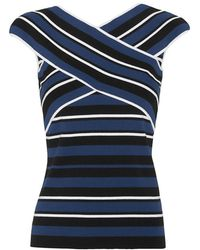 Timo Weiland - Exclusive X Strap Stripe Knit - Lyst