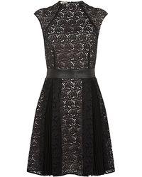 Pinko Encyclia Lace Dress - Lyst