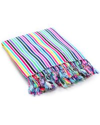 Beach Riot Toallas Beach Blanket Rainbow Raya - Lyst
