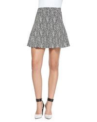 Theory Doreene K Tweed Skirt - Lyst