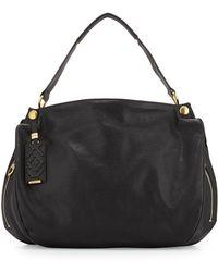 Oryany Kerry Grain Leather Shoulder Bag - Lyst