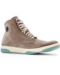 Diesel Grey Tatradium High-Top Sneakers - Lyst