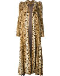 Biba Leopard Print Coat - Lyst
