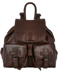 Barneys New York Flap-Front Backpack