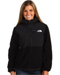 The North Face Black Denali Hoodie - Lyst