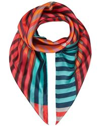 Paul Smith Valentine Print Square Scarf - Lyst