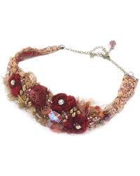 Krista R Muse, Baroque Choker With Antique Laces - Lyst