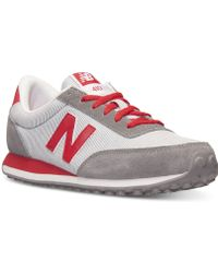New Balance Women'S 410 Casual Sneakers From Finish Line red - Lyst
