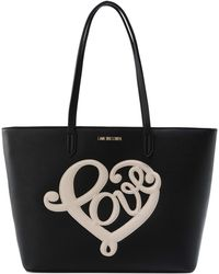 Love Moschino | Large Fabric Bag | Lyst