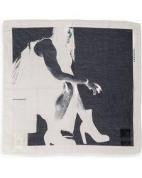 DRKSHDW by Rick Owens Bandana Heel white - Lyst