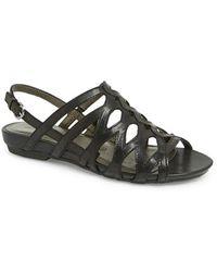 Gerry Weber - 'beach' Cutout Leather Sandal - Lyst