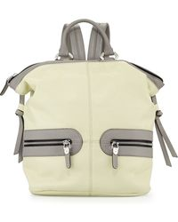 orYANY - Holly Zip Leather Backpack - Lyst