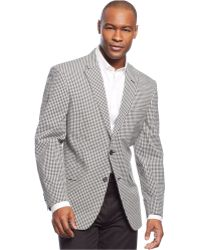 Tommy Hilfiger Seersucker Check Trim-Fit Sport Coat - Lyst
