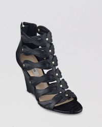Guess - Open Toe Gladiator Wedge Sandals Jily2 - Lyst