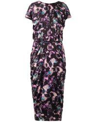 Saloni Apsara Cloudburstprint Dress - Lyst