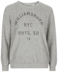 Topshop Petite Williamsburg Sweatshirt By Project Social T - Lyst