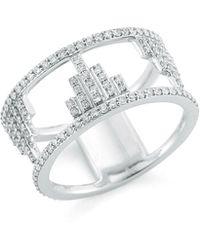 Ivanka Trump - Empire Open Frame Diamond Ring - Lyst