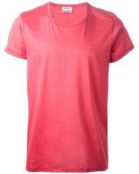 Acne Studios 'Eddy' T-Shirt - Lyst