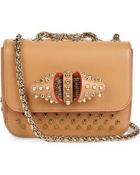 Christian Louboutin   Sweety Charity Leather Shoulder Bag   Lyst