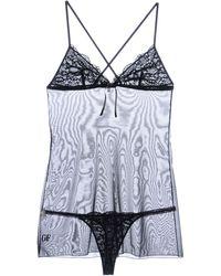 Gianfranco Ferré Black Underwear Set - Lyst