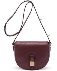 Mulberry Tessie Small Satchel purple - Lyst