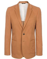 Paul Smith Tan Buggy Lined Two-Button Blazer - Lyst