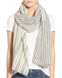 Madewell | 'sketchstripe' Scarf | Lyst