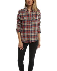 Mother | Frenchie Frenchie Button Down | Lyst