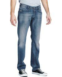 Diesel Mens Darron 826g Regular Slim Tapered Jeans - Lyst