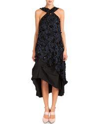 Nina Ricci Embellished Laser-Cut Midi Dress - Lyst