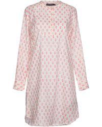Antik Batik Short Dress pink - Lyst