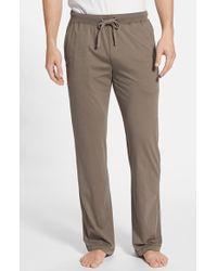 Daniel Buchler Men'S Peruvian Pima Lightweight Cotton Lounge Pants - Lyst