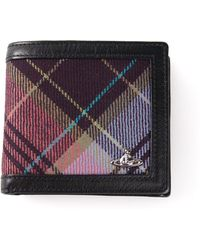 Vivienne Westwood Tartan Wallet - Lyst