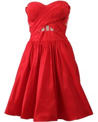 Notte by Marchesa | Strapless Cocktail Dress | Lyst
