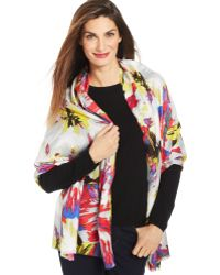 Collection Xiix Big Bloom Wrap - Lyst