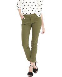 Banana Republic | New Sloan-fit Garment-dye Slim Ankle Pant | Lyst
