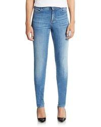 Stella McCartney Light-Wash Skinny Jeans - Lyst