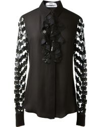 Prabal Gurung Black Silk Shirt - Lyst