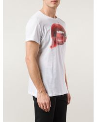 Vivienne Westwood Lips Print T-Shirt - Lyst