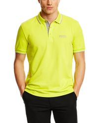 Boss Green Paddy Pro  Modern Fit Moisture Manager Stretch Cotton Blend Polo Shirt - Lyst