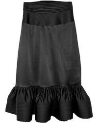 Cynthia Rowley Slim Flounce Skirt - Lyst