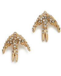 Kate Spade - Cold Comforts Stud Earrings - Lyst