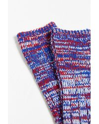 O'Hanlon Mills - Chunky Knit Twisted Marled Boot Sock - Lyst