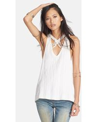 Free People 'One & Only' Racerback Tank - Lyst