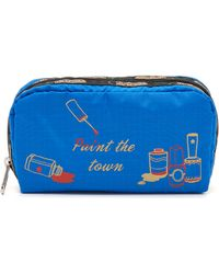 LeSportsac - Boxed Rectangular Cosmetic Case - Paint The Town - Lyst