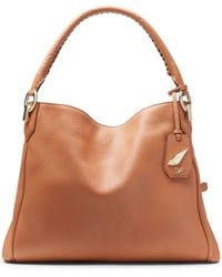 Diane von Furstenberg Sutra Leather Shoulder Tote - Lyst