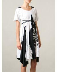 Isola Marras - Godet Panels T-Shirt Dress - Lyst
