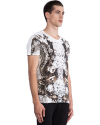 Sons Of Heroes Double Snake Graphic Tee in White white - Lyst