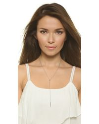 Sunahara - Long Spike Necklace - Lyst