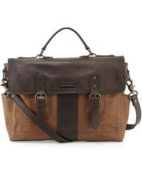 Frye Trevor Leather Briefcase - Lyst
